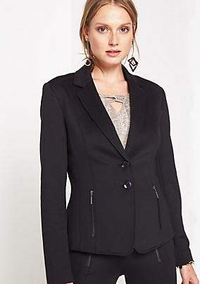 Fine blazer with sophisticated details from comma