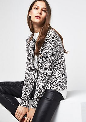Lightweight cardigan with long sleeves from comma