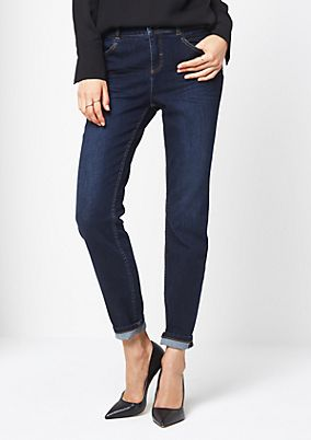 Classic jeans with a vintage finish from comma