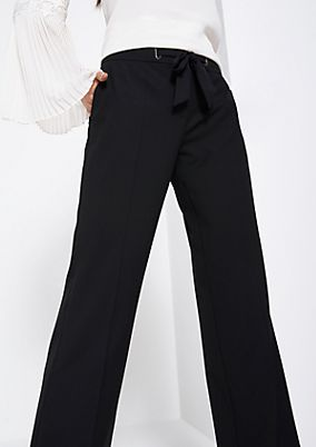 Marlene trousers with a belt element from comma