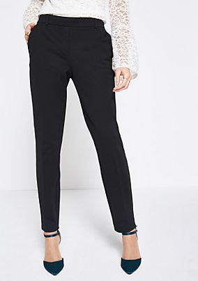 Business trousers with decorative details from comma
