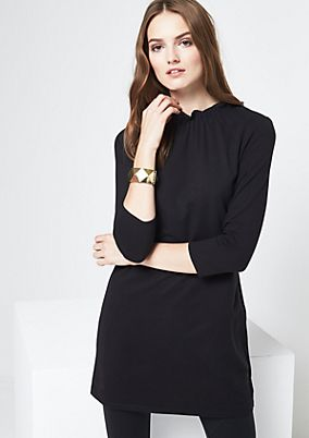Jersey dress with 3/4-length sleeves from comma
