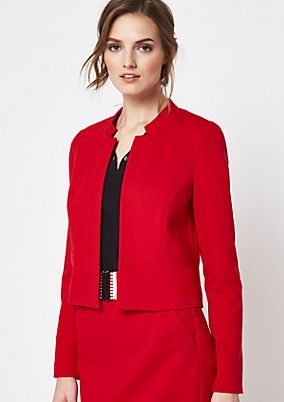 Elegant short blazer with decorative details from comma