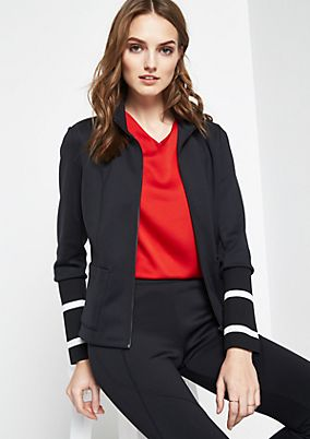Sporty bomber jacket with exciting details from comma