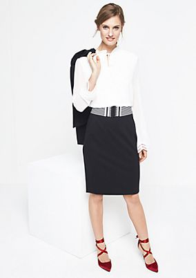 Business skirt with a wide belt from comma