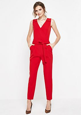 Elegant jumpsuit with smart details from comma