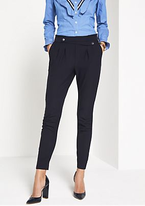 Lightweight ankle-length trousers from comma