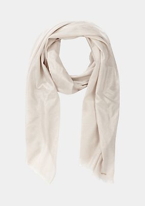 Delicate scarf with glitter effects from comma