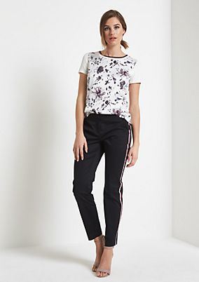 Short sleeve T-shirt with a beautiful front print from comma