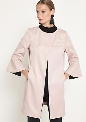 Frock coat with 3/4-length sleeves from comma