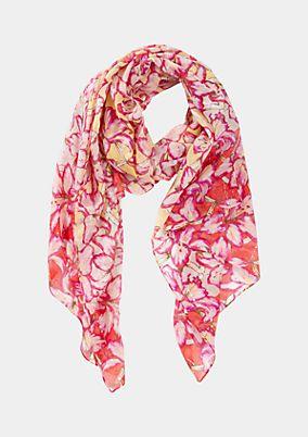 Schal mit liebevoll gestaltetem Musterspiel