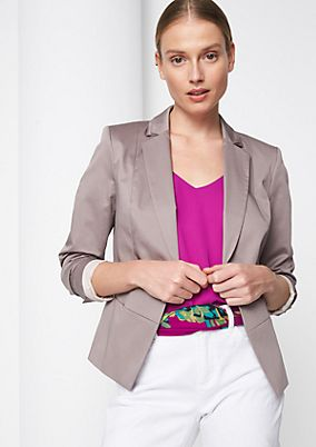 Business blazer with smart details from comma