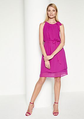 Delicate crêpe summer dress from comma
