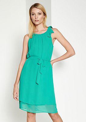 Zartes Sommerkleid aus Krepp
