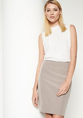 Two-tone business dress from comma