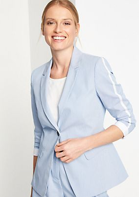 Finely striped blazer from comma