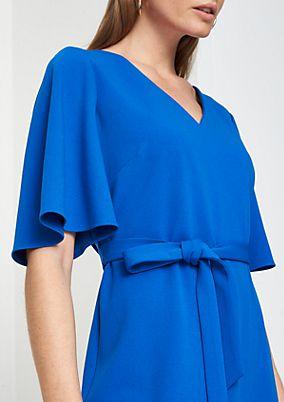 Feminine dress in crêpe jersey from comma