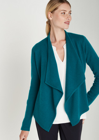 Cardigan with a shawl collar from comma