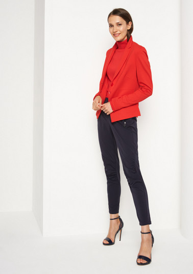 Lightweight nylon trousers with zip pockets from comma