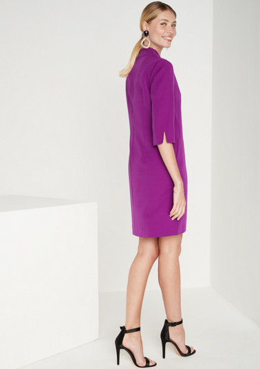 Elegant business dress with 3/4-length sleeves from comma