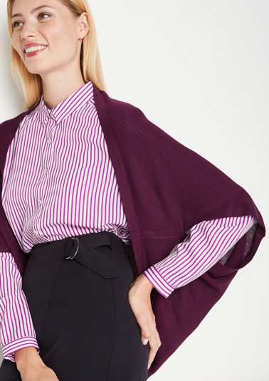 Fine knit bolero with sophisticated details from comma