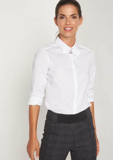 Elegant business blouse with long sleeves from comma