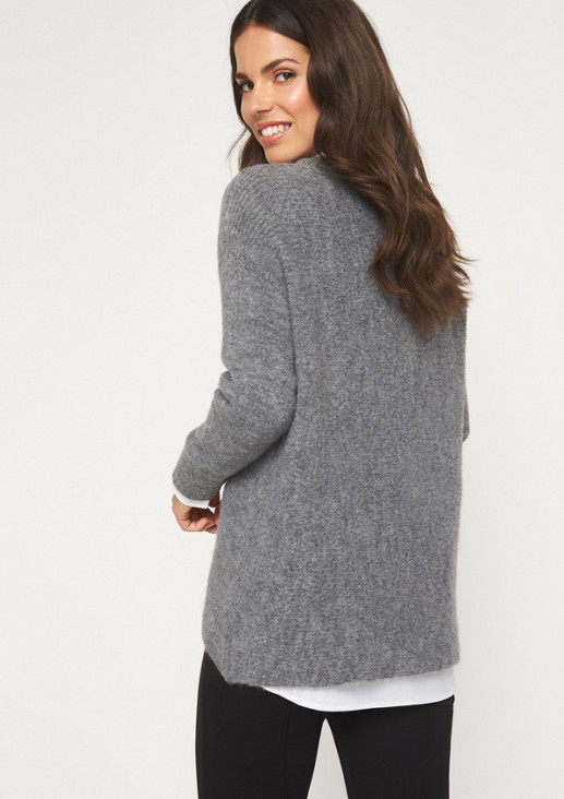 Knit jumper with long sleeves from comma