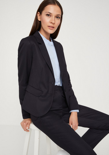 Eleganter Businessblazer mit Minimalmuster