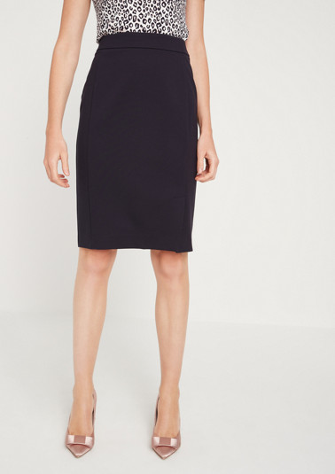 Elegant pencil skirt with decorative details from comma