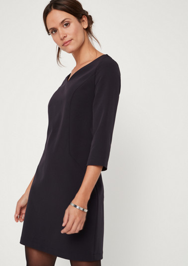 Business dress with 3/4-length sleeves from comma