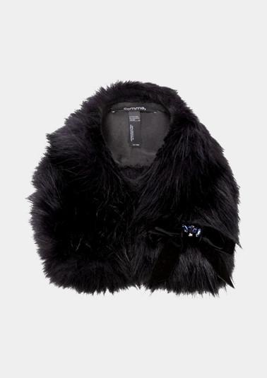 Schal aus Fake-Fur