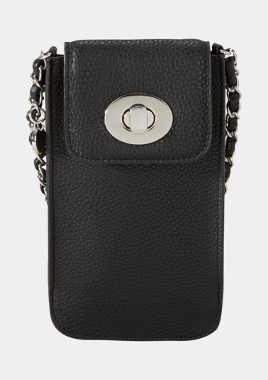 Faux leather mobile phone case from comma