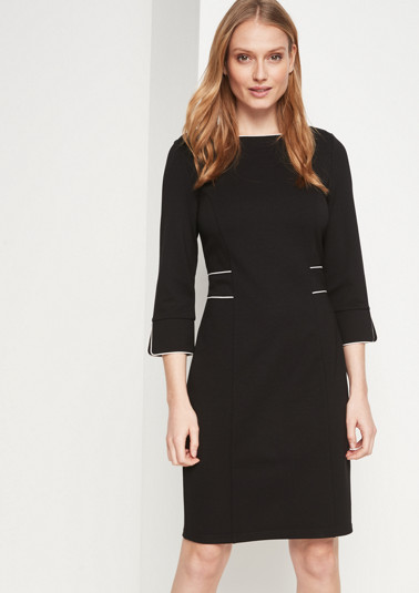 Elegant sheath dress with 3/4-length sleeves from comma