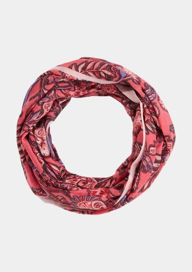 Foulard tube orné d'un motif original all-over de Comma