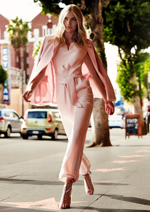 Long blazer with sophisticated details from comma