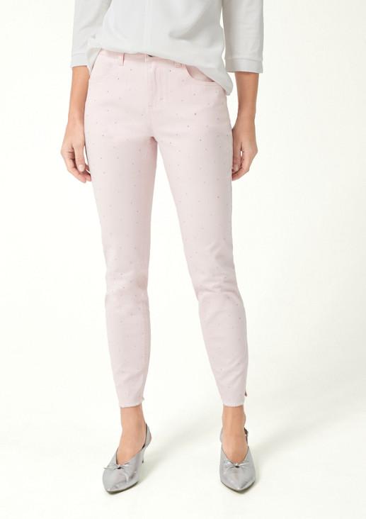 Coloured Denim-Jeans in 7/8-Länge