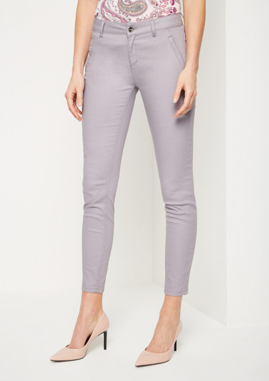 Casual trousers with exciting details from comma