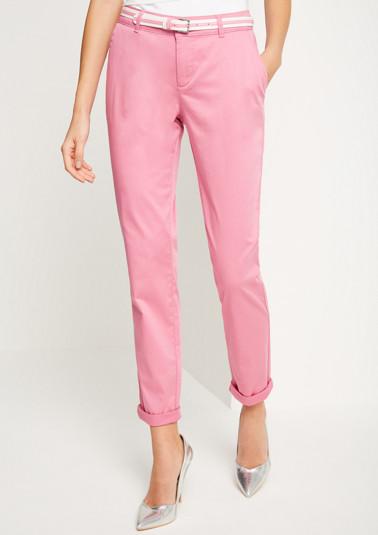 Pantalon chino à ceinture de Comma
