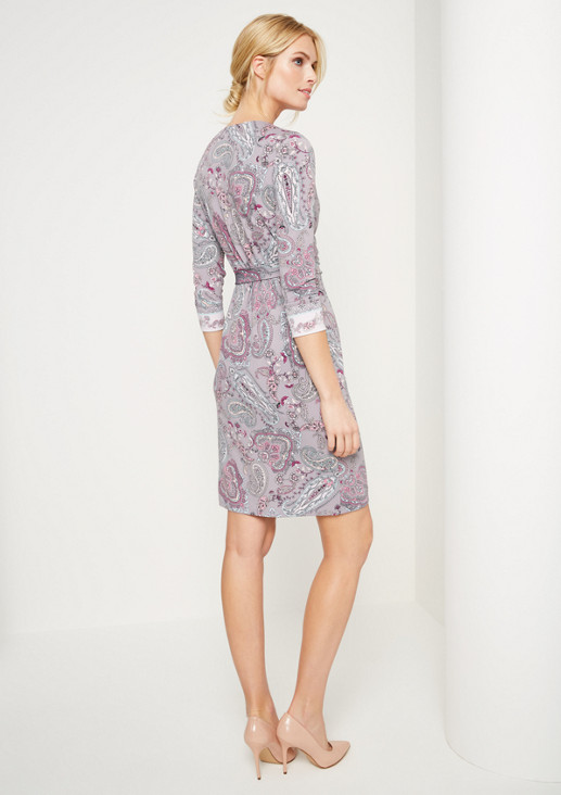 Soft jersey dress with 3/4-length sleeves from comma