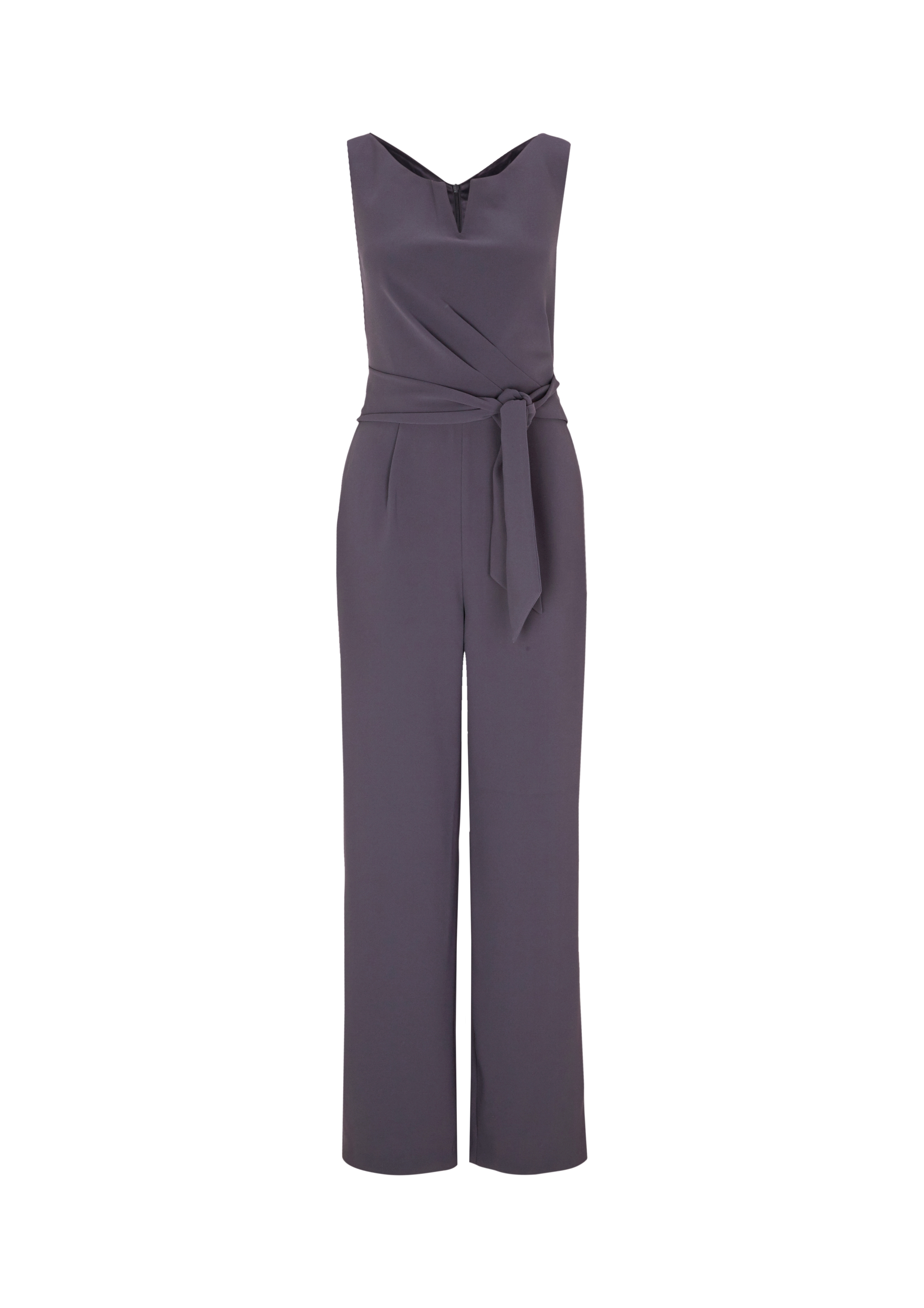 Overall | Bekleidung > Overalls | Grau/schwarz | 100% polyester| futter: 97% polyester -  3% elasthan | comma