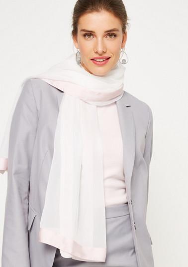 Delicate chiffon scarf from comma