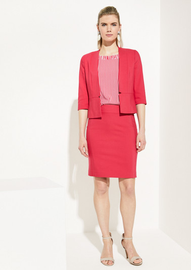 Elegant blazer with 3/4-length sleeves from comma