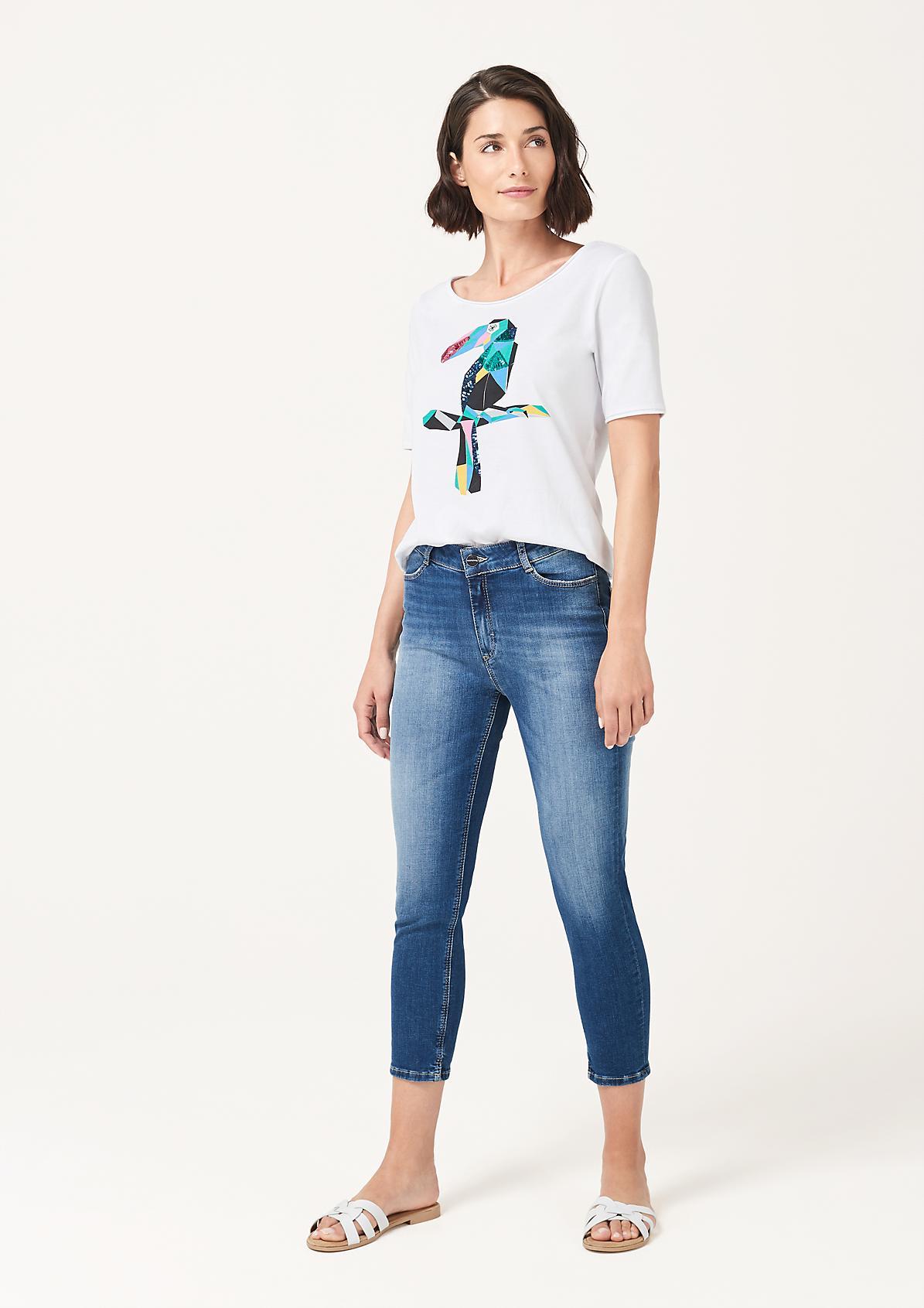 Jeans im lässiger Used-Optik