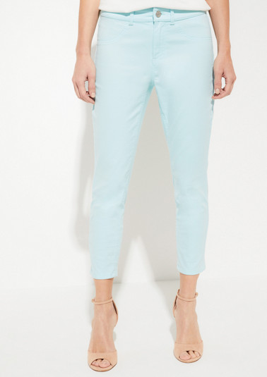Trousers in a summery 7/8 length from comma