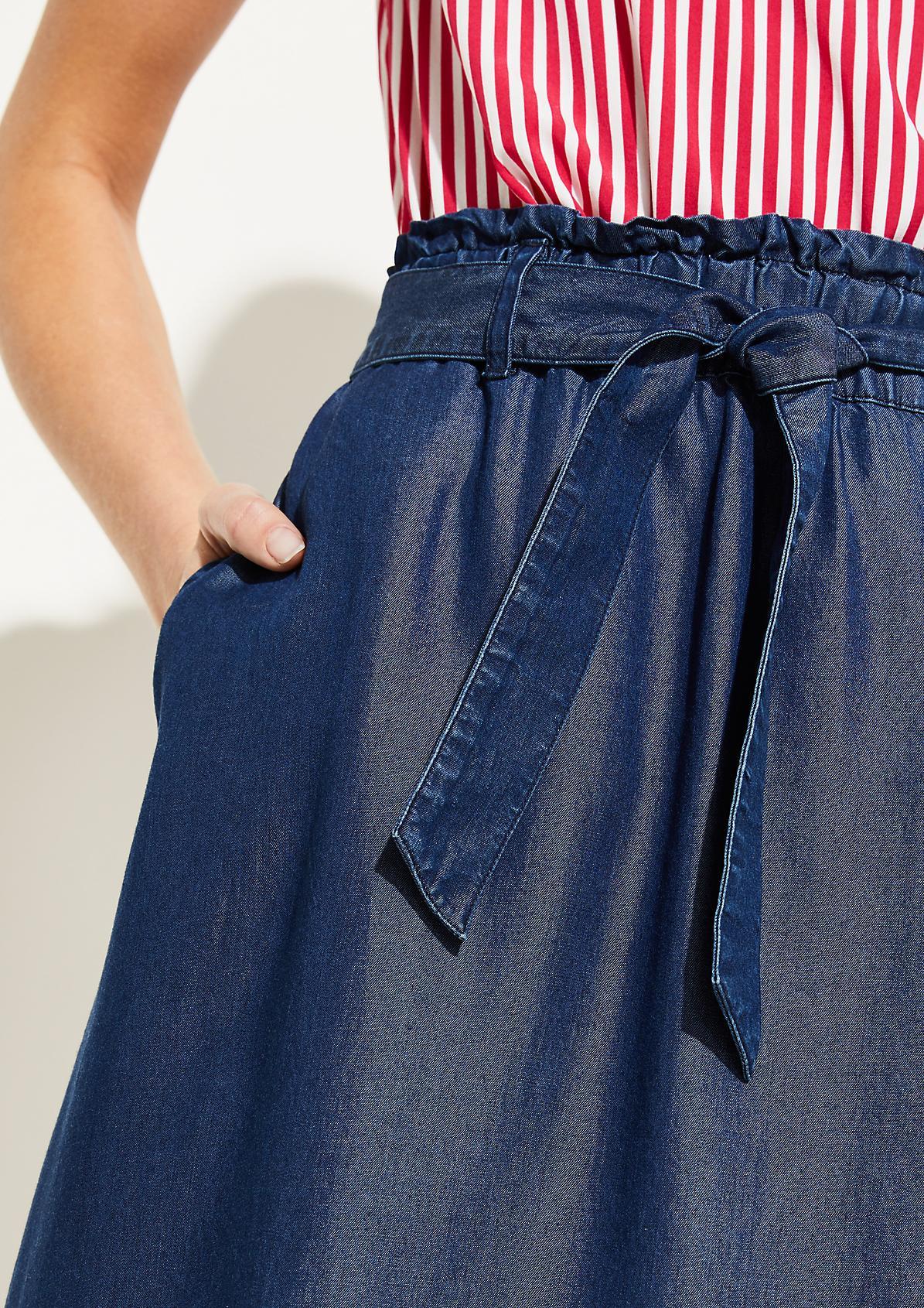 Casualrock in Jeans-Optik
