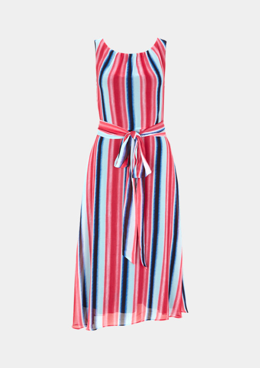 Summer crêpe dress with an all-over pattern from comma