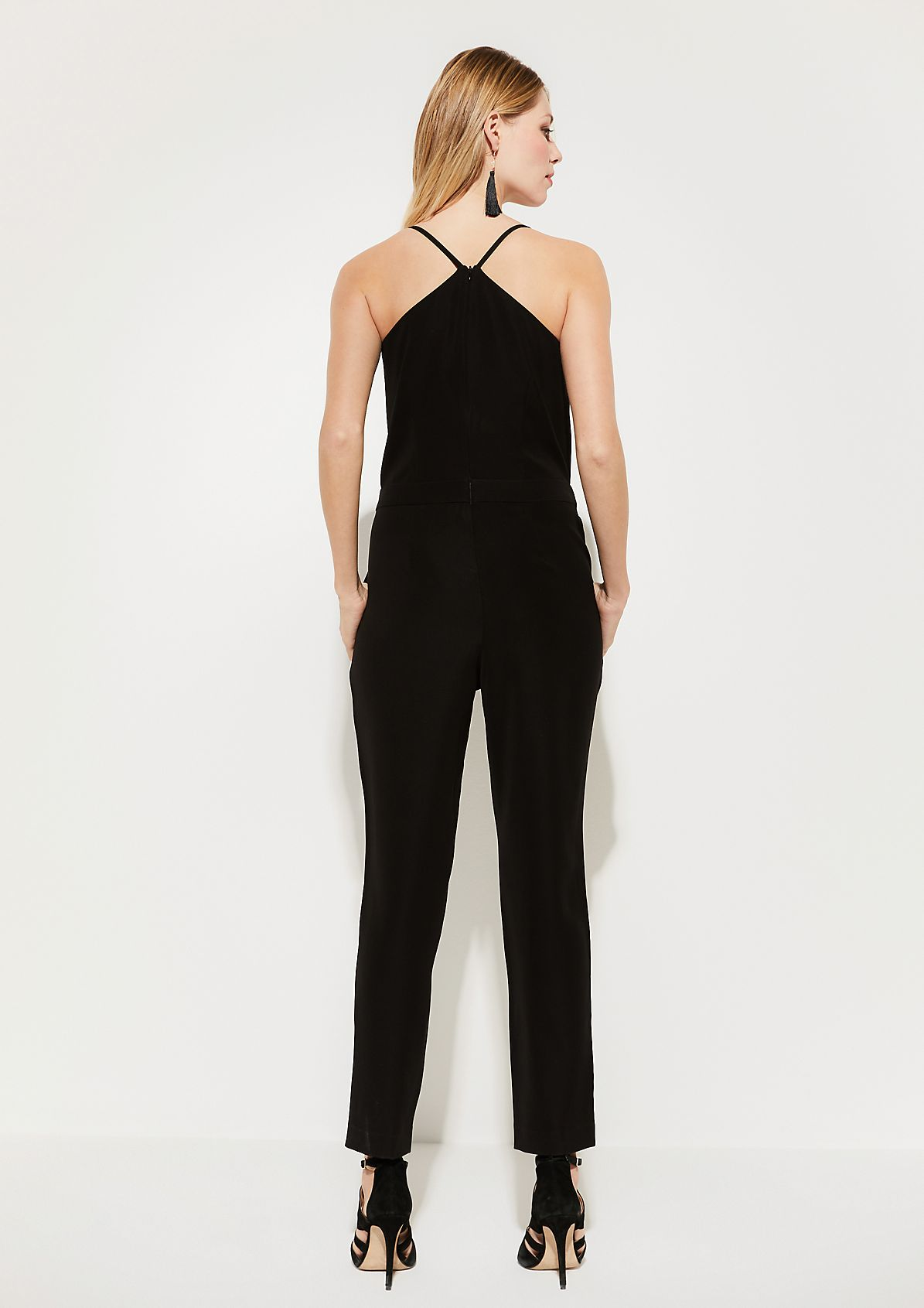 Jumpsuit with spaghetti straps from comma