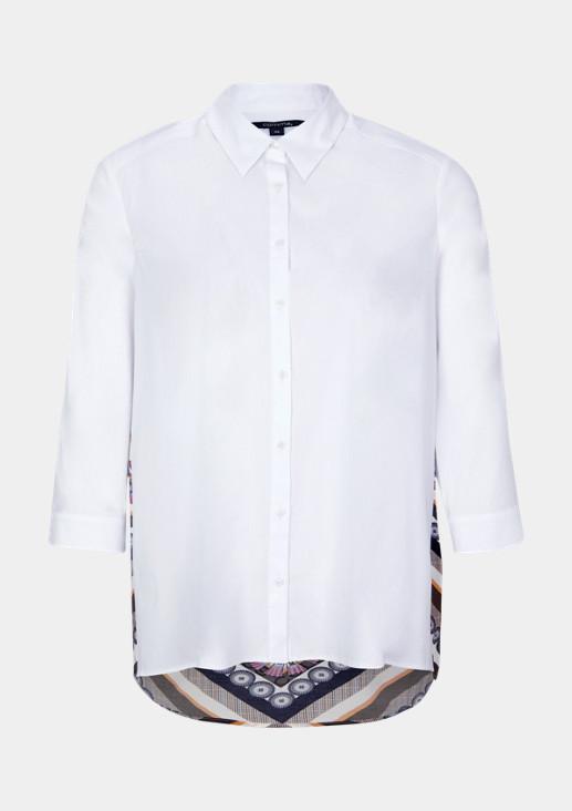 Extravagante Bluse mit Rückenmuster