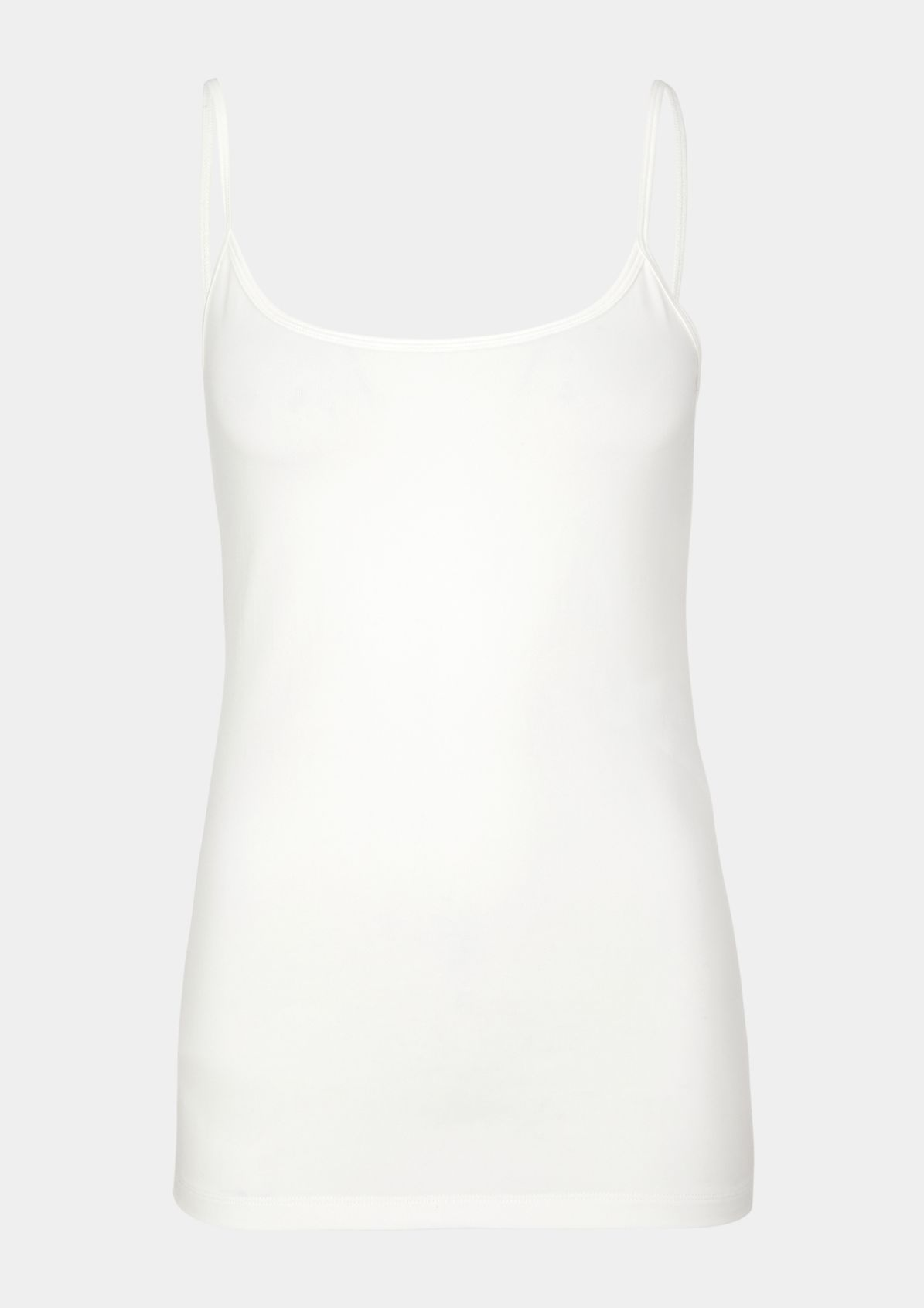 Jersey top with spaghetti straps from comma