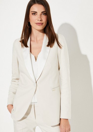 Business blazer with a fine colour palette from comma